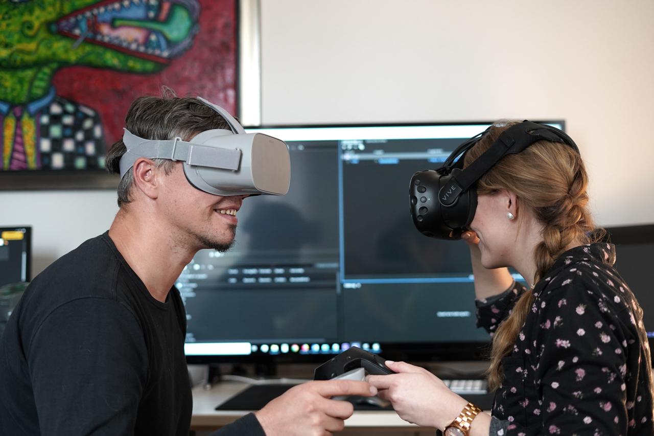 Postproduktion für RemmyVR App (VR Brille für Senioren)
