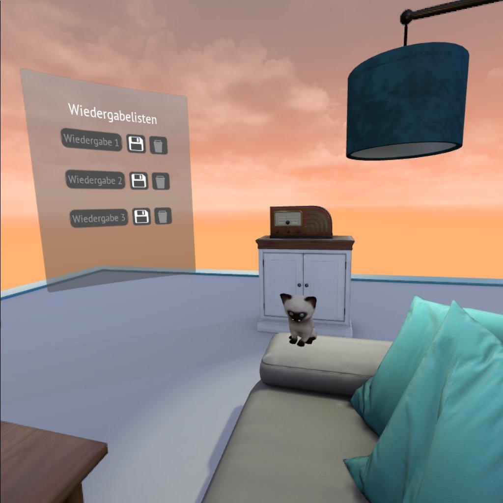 Screenshot aus der RemmyVR App (VR Brille für Senioren)